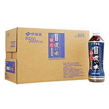 伊藤园 浓味乌龙茶(无糖/含膳食纤维)量贩 500ml*15瓶/箱
