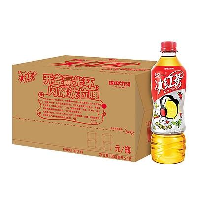 统一 冰红茶 500ml*18瓶