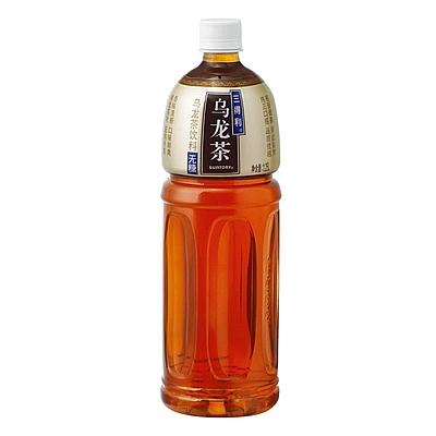 三得利 乌龙茶 1.25L  无糖