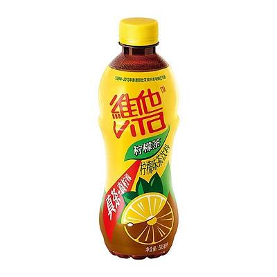 维他 柠檬茶饮料 500ml  瓶装