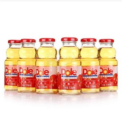 都乐 100%纯果汁苹果汁量贩装 250ml*24瓶