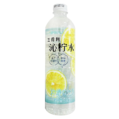三得利 沁柠水柠檬味饮料 550ml*15瓶/箱