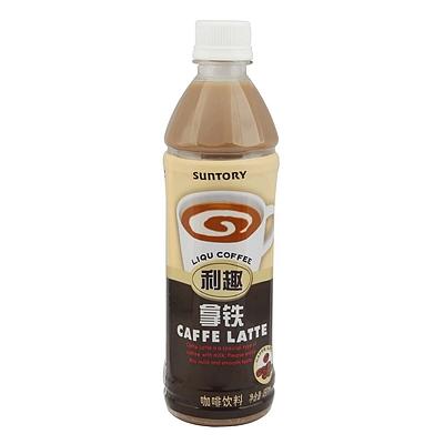 三得利 利趣咖啡饮料 480ml  利趣拿铁
