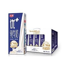 光明 优+纯牛奶(利乐砖) 250ml*12盒