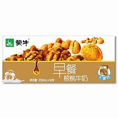 蒙牛 利乐包早餐核桃奶 250ml*16  核桃奶