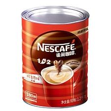 雀巢 1+2速溶咖啡 1.2kg  原味