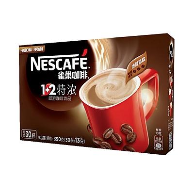 雀巢 1+2特浓咖啡 13g*30条