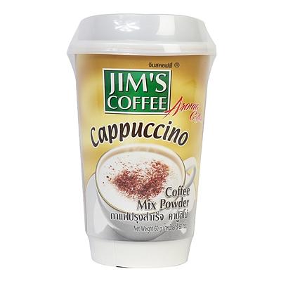 金姆斯 卡布基诺速溶咖啡饮料(固体饮料) 60g