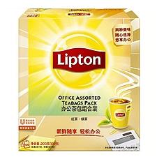 立顿 精选茶 100片/盒  办公茶包组合