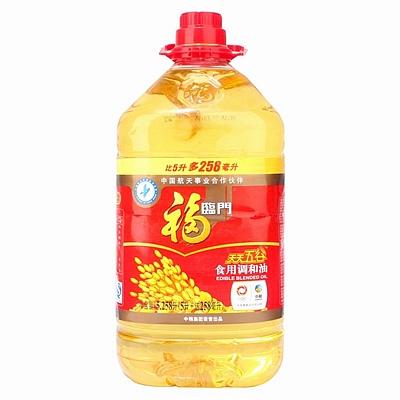 福临门 谷物调和油 5L