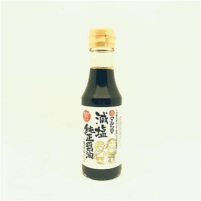 丸岛牌 减盐儿童酱油(酿造酱油) 150ml  减盐儿童