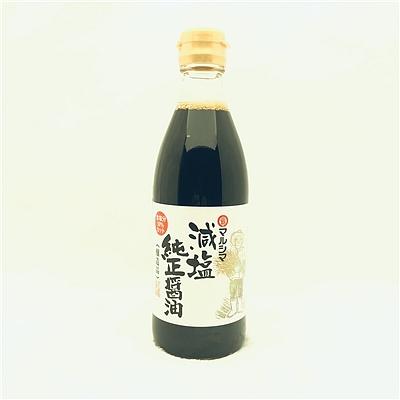 丸岛牌 减盐酱油(酿造酱油) 360ml