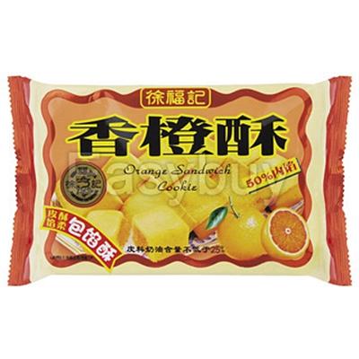 徐福记 小食 182g  香橙酥