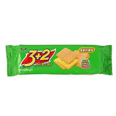 3+2苏打夹心饼干