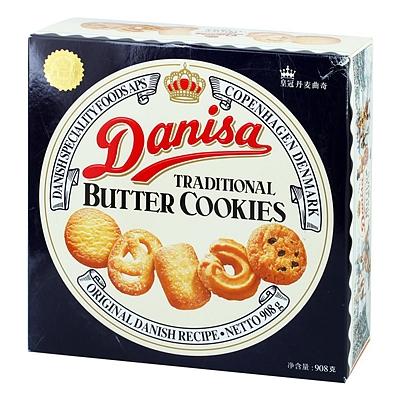 丹麦皇冠 曲奇饼干 908g