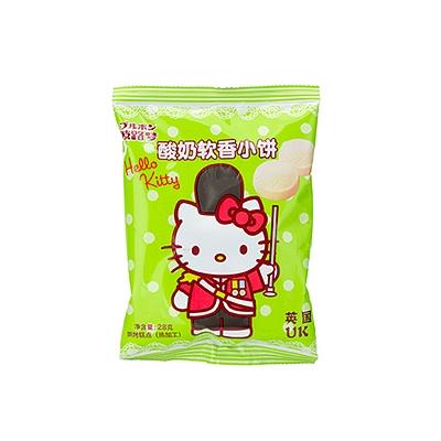 hello kitty 酸奶軟香小餅