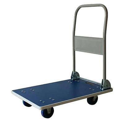 申和 木板静音手推车 (蓝色) 150kg  HJ1501W