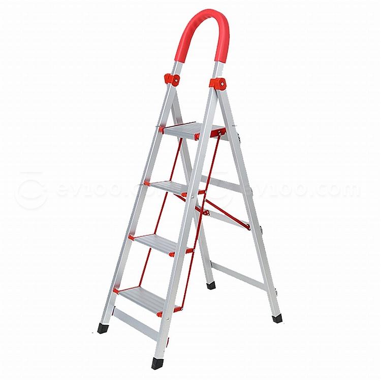 森凡 便携折叠铝合金四步梯  SF-12532