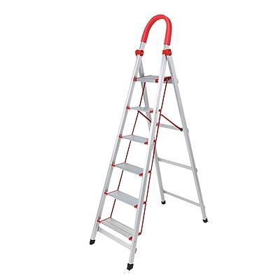 森凡 便携折叠铝合金六步梯  SF-12570