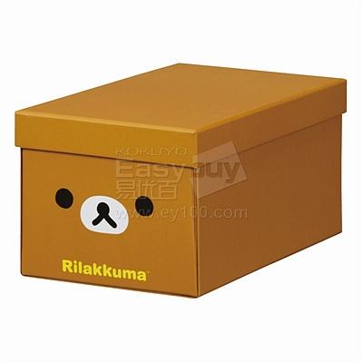 锦宫 轻松小熊收纳盒 (棕) 轻松小熊S号  4065RK