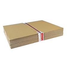 易优百 瓦楞纸板箱 量贩 10个/套  小号 333*283*148mm