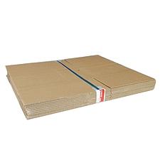 易优百 瓦楞纸板箱 量贩 10个/套  大号 526*376*338mm