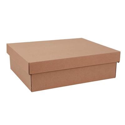 东迅 瓦楞纸制保管盒 13L 2个/包  DX-FB600S
