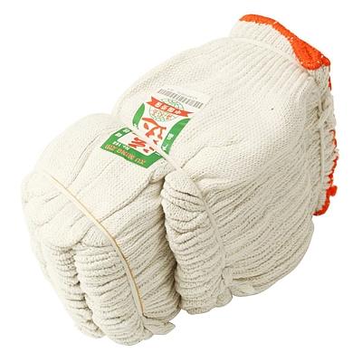 运达 本白纱手套 12双/包  600g