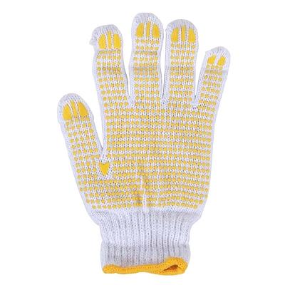 點塑防滑白紗手套