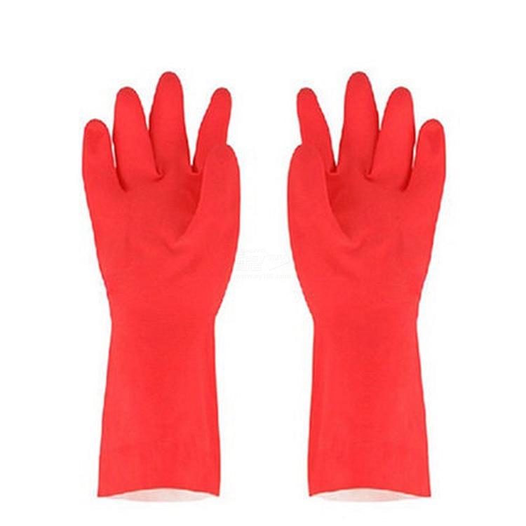 思高 耐用型手套 (红) L