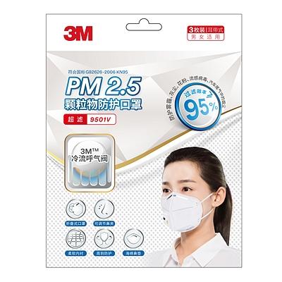 PM2.5带呼吸阀防护口罩
