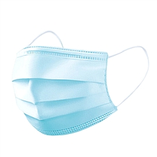 東冠 一次性三層防護口罩(潔云系列) (藍) 10只/袋  Q108002
