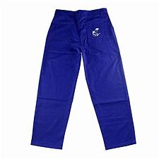 威特仕 狐狸防火阻燃焊接裤 (蓝) L  33-9700