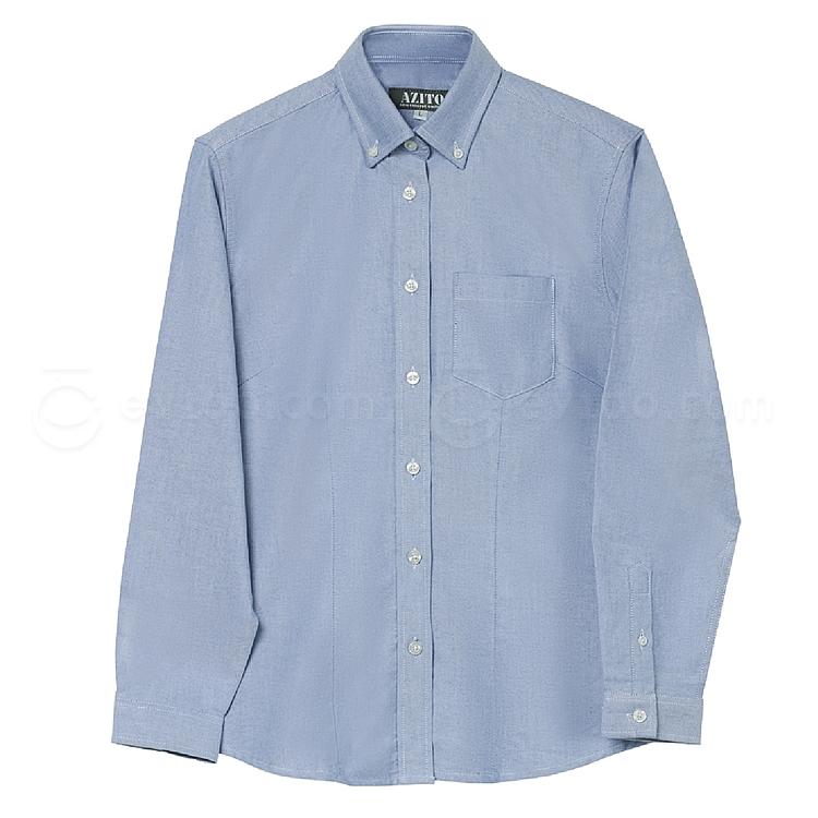 爱依托斯 女款长袖衬衫 (天蓝) L  912138#007