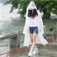 燕王 連體雨衣 (白) XL  8808