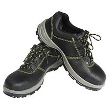代尔塔 低帮双钢安全鞋 (黑) 41码  301102