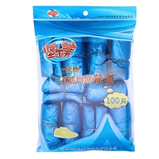 堅爾美 一次性雙筋加厚鞋套 (藍) 37.5*13.8cm  100只
