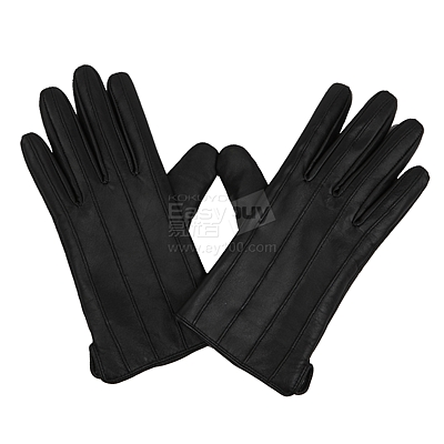 MASCOMMA 全触屏羊皮手套 (黑) 男款L  CA00101/B