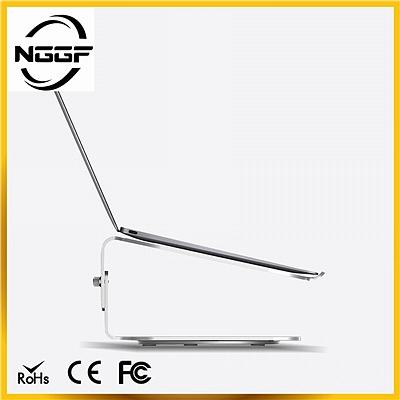 鋁合金筆記本電腦支架 護頸椎可升降式
