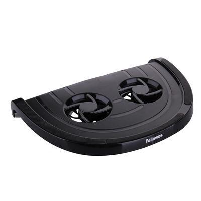 范罗士 笔记本电脑双轮散热支架 (黑)  80182