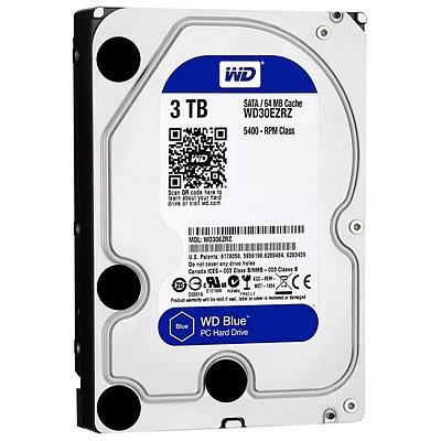 西部数据 台式机硬盘 SATA 6GB/S 64M  WD30EZRZ 蓝盘