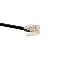 酷比客 二芯纯铜电话线 (黑) 1.5m  LCLN3TELBK-1.5M