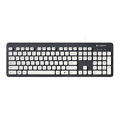 罗技 有线水洗键盘  K310