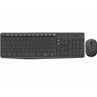 罗技 无线键鼠套装  MK235