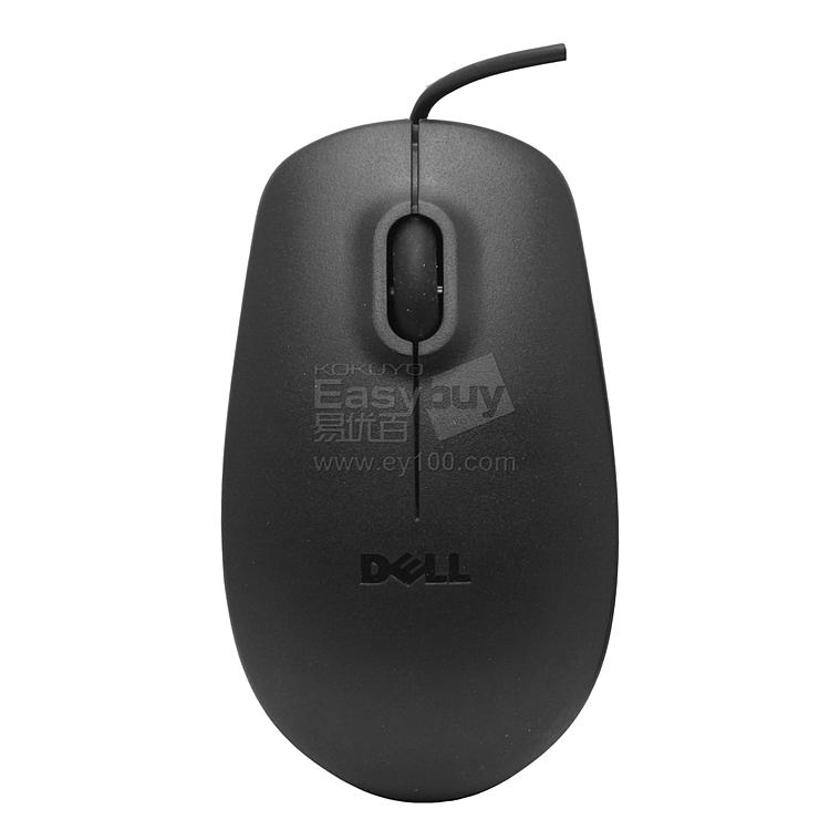 戴尔 USB有线光电鼠标 (黑) USB  MS111