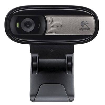 罗技 网络摄像头 (黑)  C170