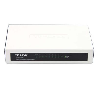 普联 以太网交换机(8口)  TL-SF1008+