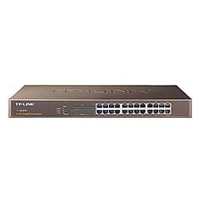 普联 TP-LINK全千兆以太网交换机(24口)  TL-SG1024T