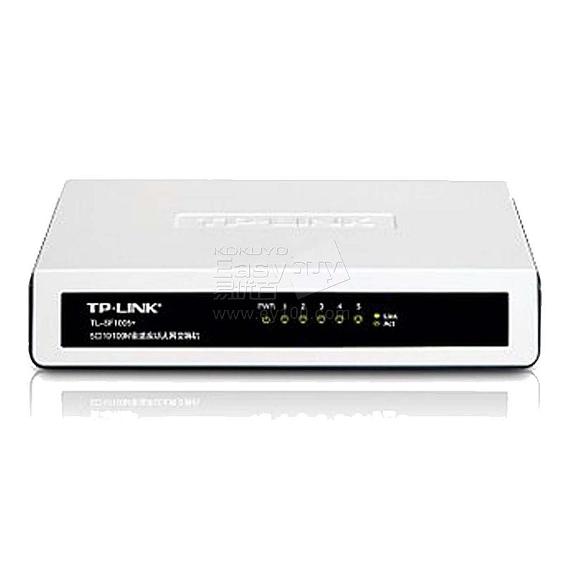 普联 TP-LINK5口10/100M以太网交换机  TL-SF1005+