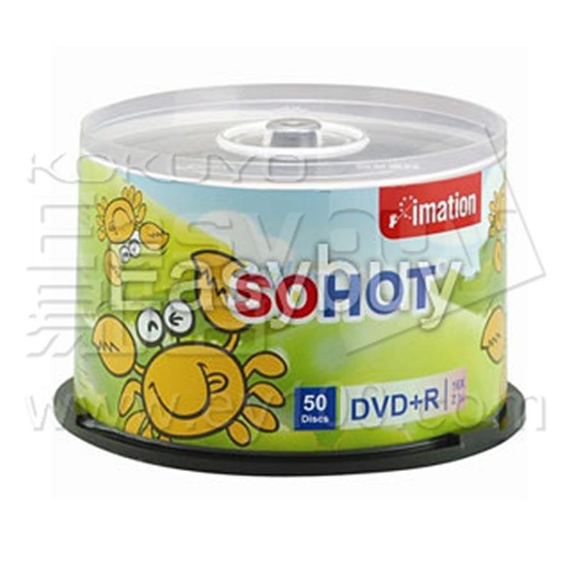 怡敏信 DVD+R刻录盘 4.7GB 50片装  DVD+R
